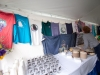 An exhibit of T-shirts