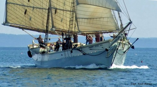 The Maine Windjammer Association member vessel Mary Day