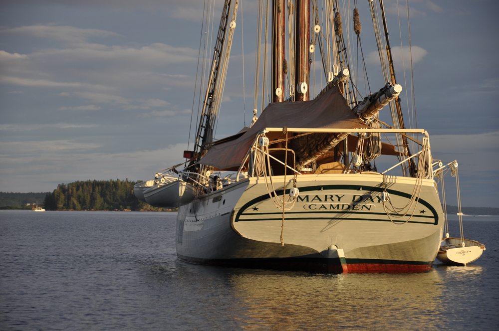 maine windjammer schooner cruises, schooner mary day, maine windjammers