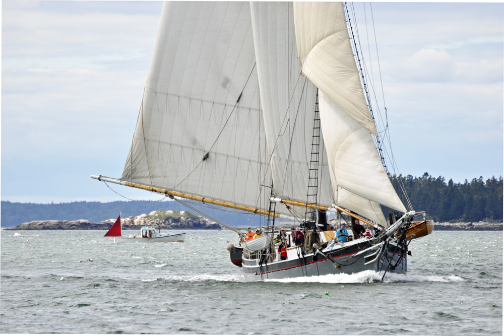 maine windjammers, maine vacations, windjammer vacations