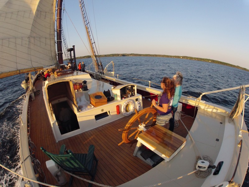 Maine windjammer cruises vacations